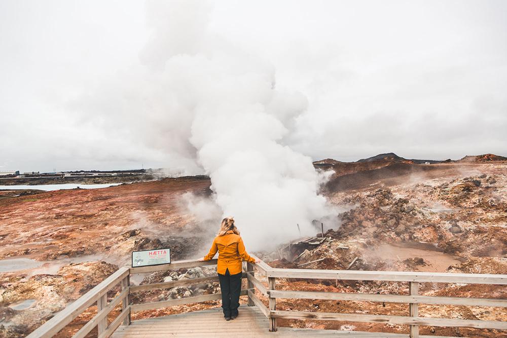 Gunnuhver | Between Continents Reykjanes & Lava Tunnel tour | Hidden Iceland | Photo by Norris Niman