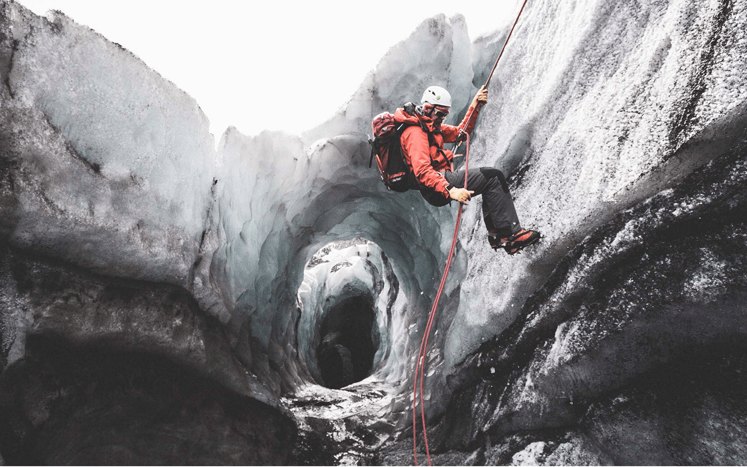 Ice climbing | Hidden Iceland | Photo by Norris Niman *