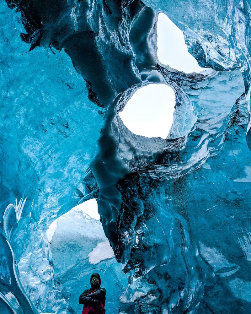 Blue Diamond Ice Cave | Ice Cave Tour | Hidden Iceland | Photo by Magnús Snæbjörnsson