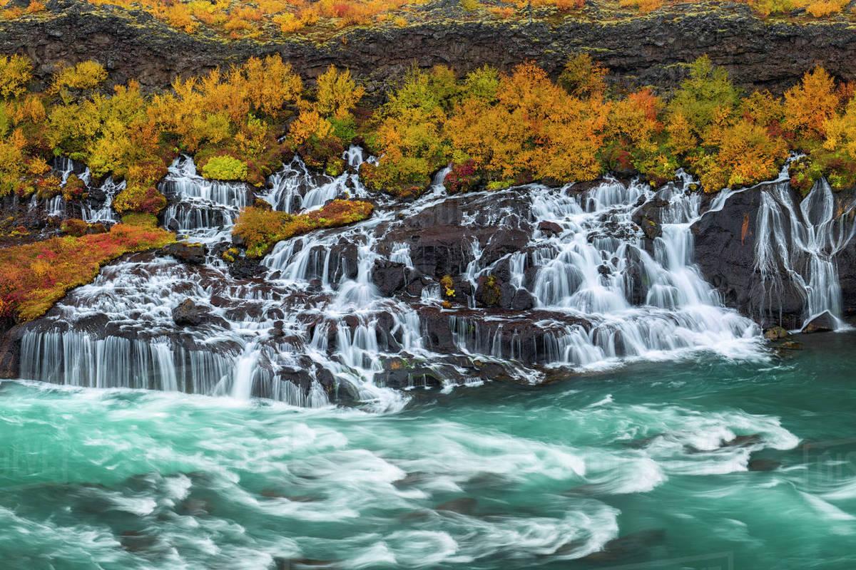 Hraunfossar Waterfalls | West Iceland | Hidden Iceland