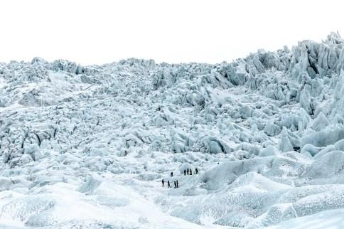Falljökull Glacier | Jökulsárlón Glacier Lagoon 2 Day Tour | Hidden Iceland | Photo by Amy Robinsson | Feature