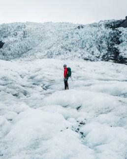 Falljökull Glacier Hike | Jökulsárlón Glacier Lagoon 2 Day Tour | Hidden Iceland | Photo by Paul Fencaros