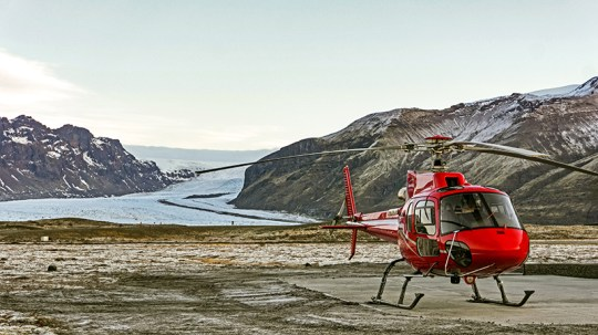 Blue Dragon Helicopter Ice Cave Tour | Hidden Iceland