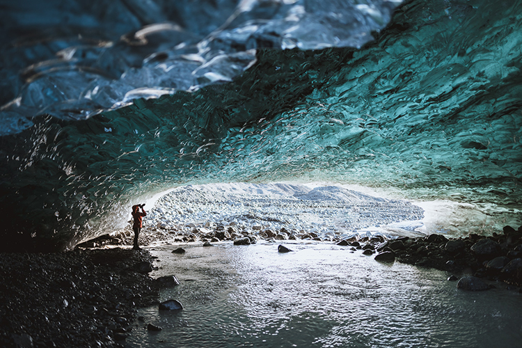 Sapphire Ice Cave Tour | Hidden Iceland | Photo by Sarah Rodgers