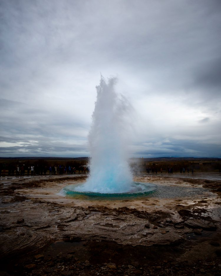 Geysir | Golden Circle: Platinum Tour | Hidden Iceland | Photo by Dennis Stever