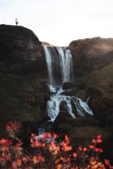Selvallavatn Hidden Waterfall | Snæfellsnes Peninsula Tour | Hidden Iceland | Photo Dennis Stever