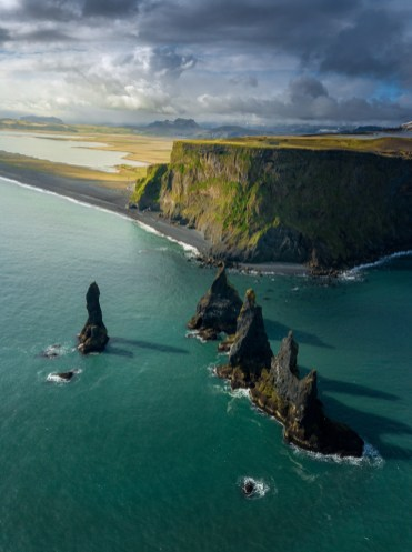 Reynisfjara Black Sand Beach & Reynisfjall | Hidden Iceland | Photo Danny Mcgee