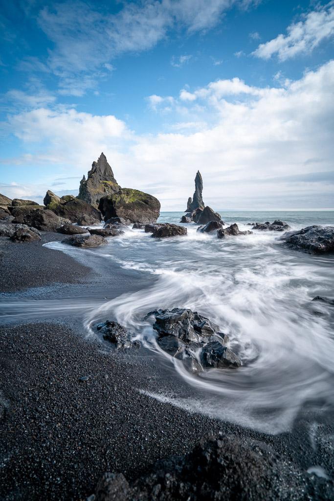 Reynisfjara Black Sand Beach & Reynisdrangar | Hidden Iceland | Photo Danny Mcgee