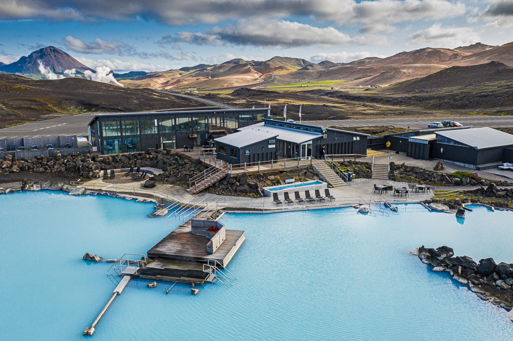 Myvatn Nature Baths Aerial | Hidden Iceland | Photo Myvatn Nature Baths