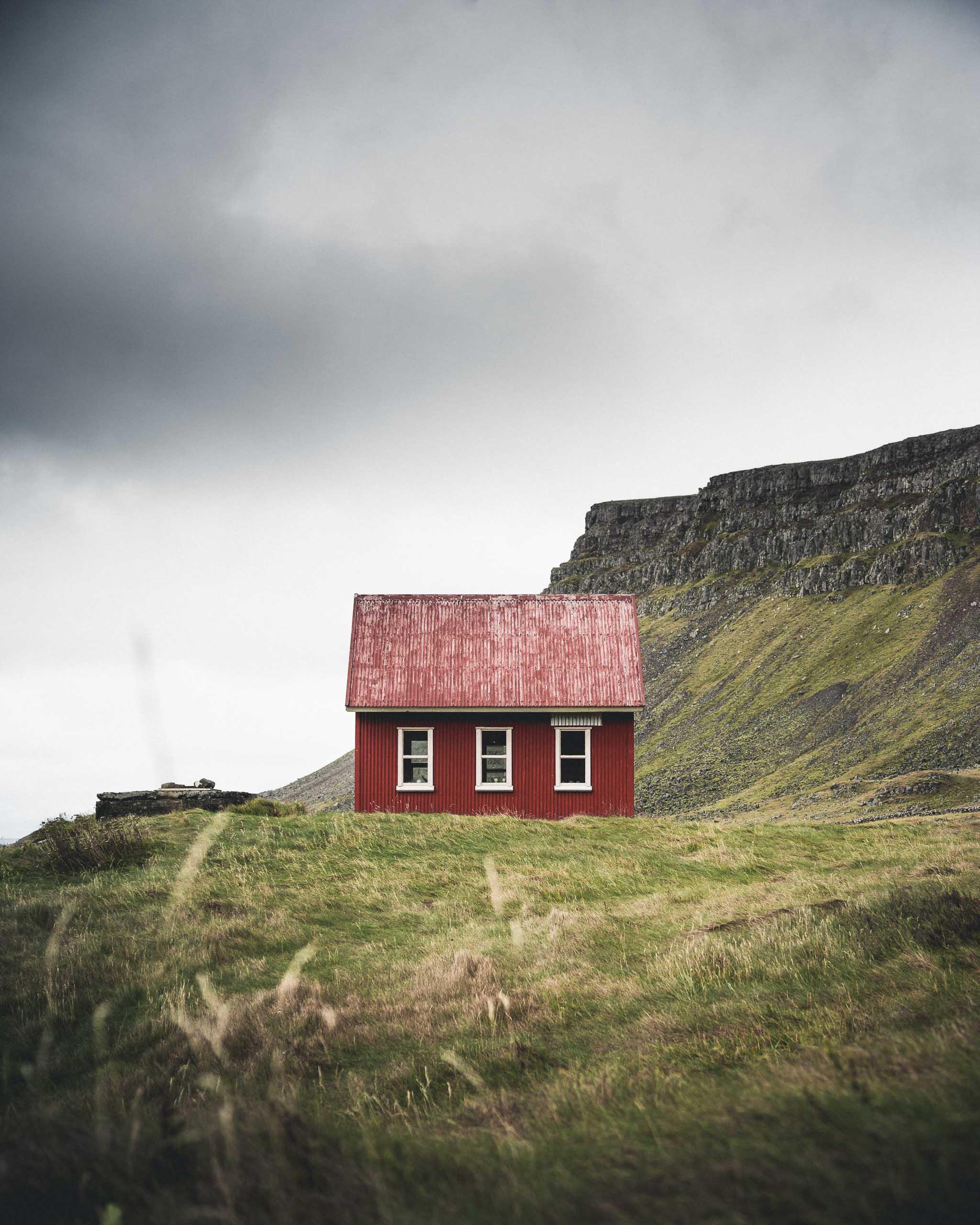 Westfjords Cabin | Hidden Iceland | Wild Westfjords 4 Day Tour | Photo Norris Niman