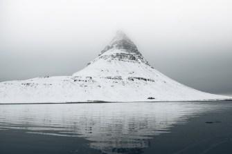 Kirkjufell Reflection in Winter | Snæfellsnes Peninsula Tour | Hidden Iceland | Photo Brendan Bannister | Featured