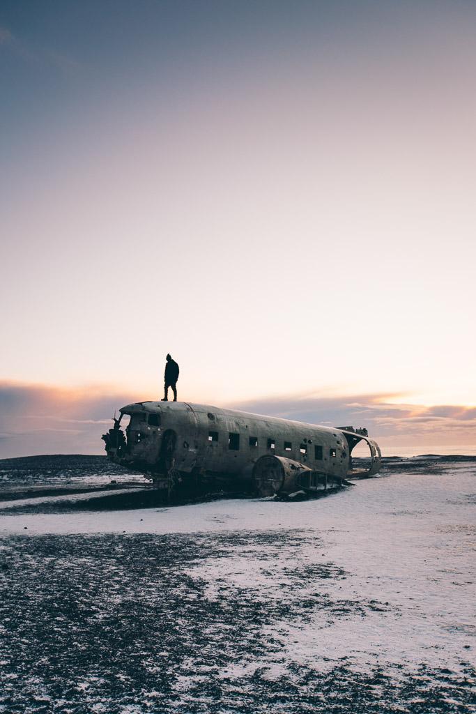 Sólheimassandur Plane Wreck | Hidden Iceland | Photo Jonny Livorti