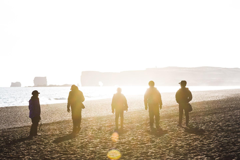 Reynisfjara Black Sand Beach. Hidden Iceland. Photo by Norris Niman. Feature
