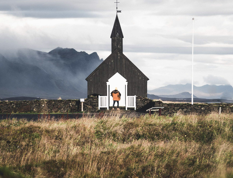 Búðakirkja black church in Snæfellsnes. Photo by Norris Niman. Feature