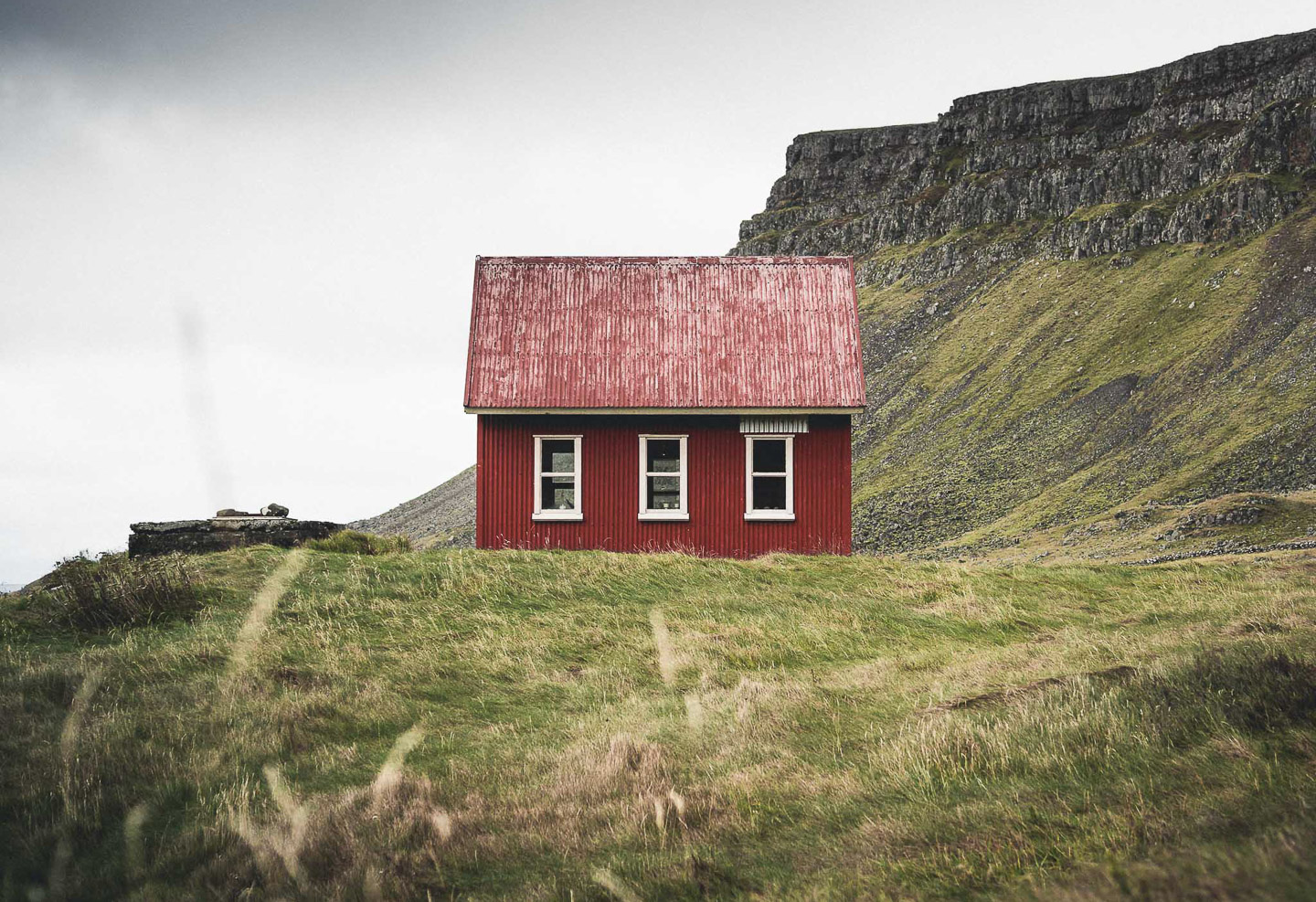 Westfjords Cabin. Photo by Norris Niman. Feature
