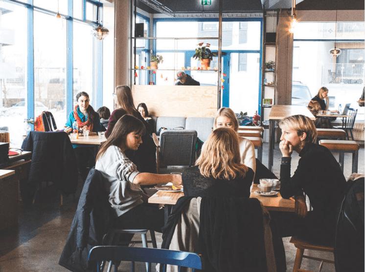 Best Cafe in Reykjavik.