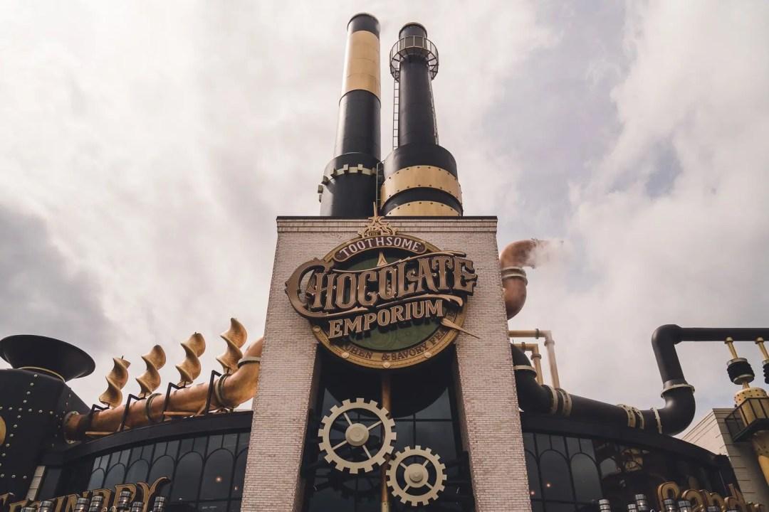 Toothsome Chocolate Emporium Steampunk Bar