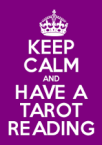 Keep calm_tarot reading