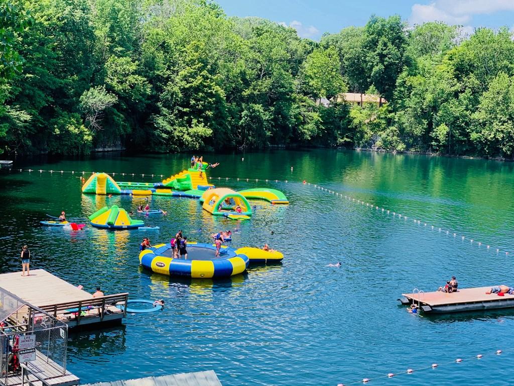 Hidden paradise campground Swim Area