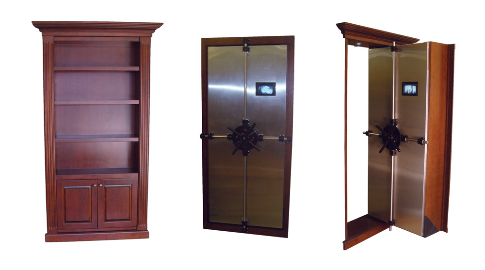 Creative home engineering walk in gun safe doors buy today for Walk in safe rooms