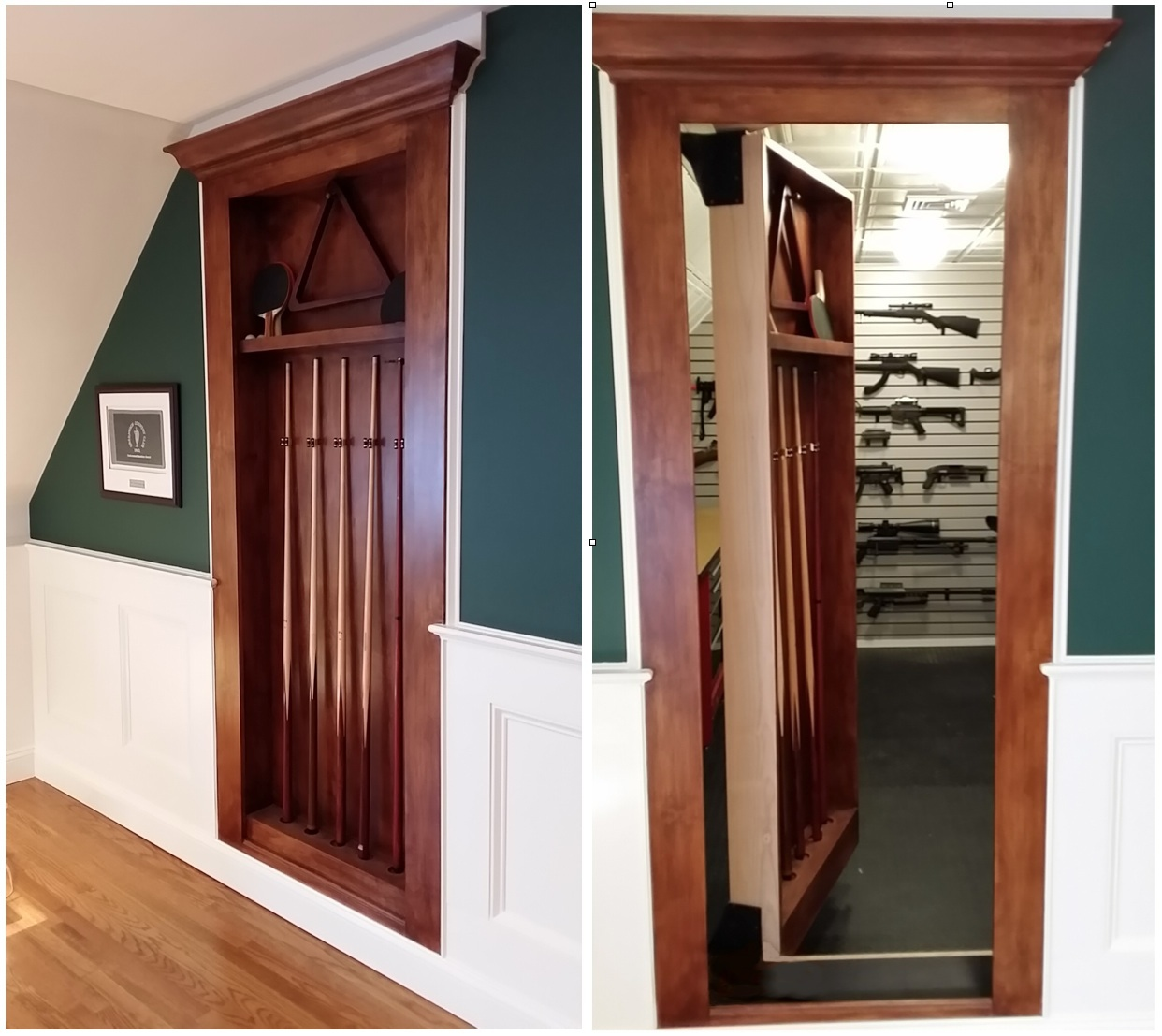 Example Walk In Gun Safes Using Our Secret Doors