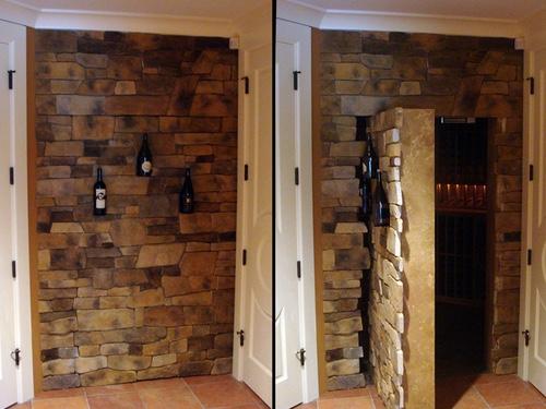 Ex&le Walk-in Gun Safes Using Our Secret Doors & Vault Doors - Secret Vault Doors for Homes - Highly Secure \u0026 Custom