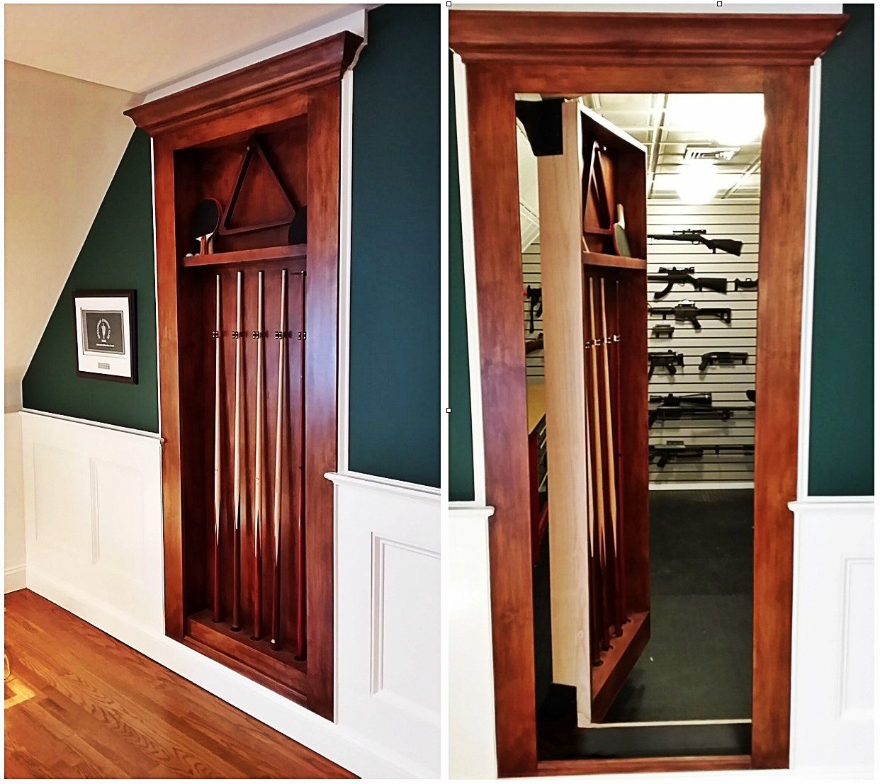 hidden gun safe - discreetly hide your gun safe