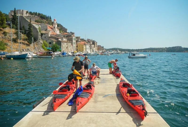Boats for Kayaking