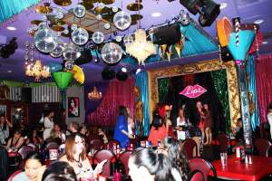 Wine & dine at Lips while being entertained by ridiculously talented drag queens!