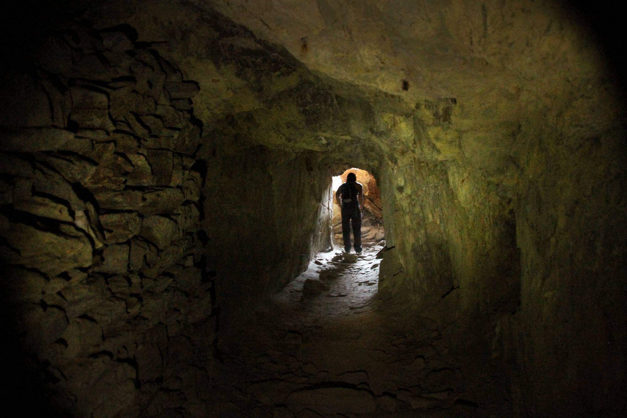 The Ready Relief mine is one of San Diego's most successful mines during the Gold Rush days and comes complete with a murder mystery!