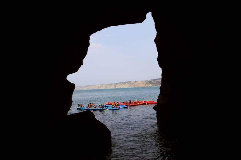 Visit the Sunny Jim Cave in La Jolla, one of San Diego's historic smuggler's cave!