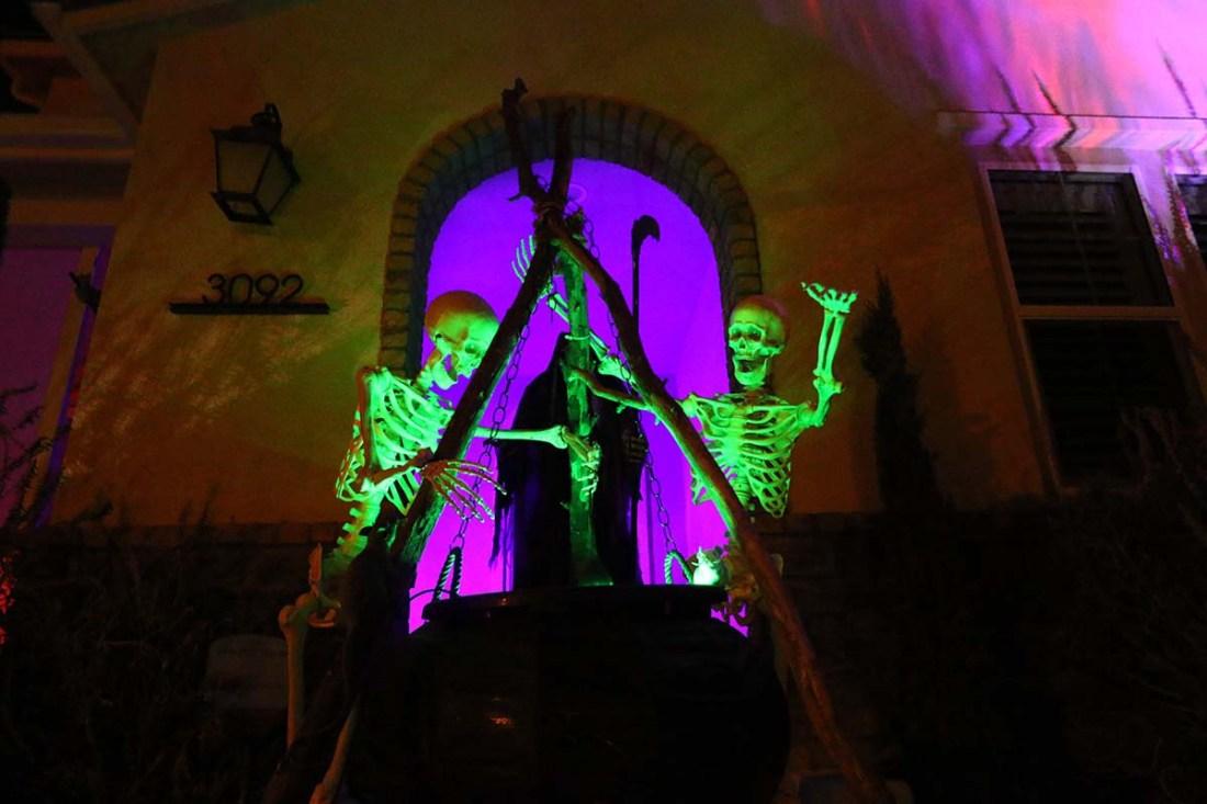 Halloween Homes: Harmony Grove