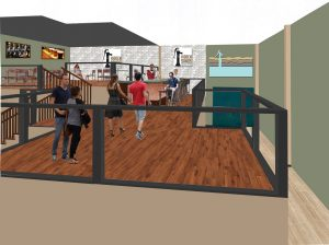 Hidden Sands Brewing Company Tasting Room Artists Rendering