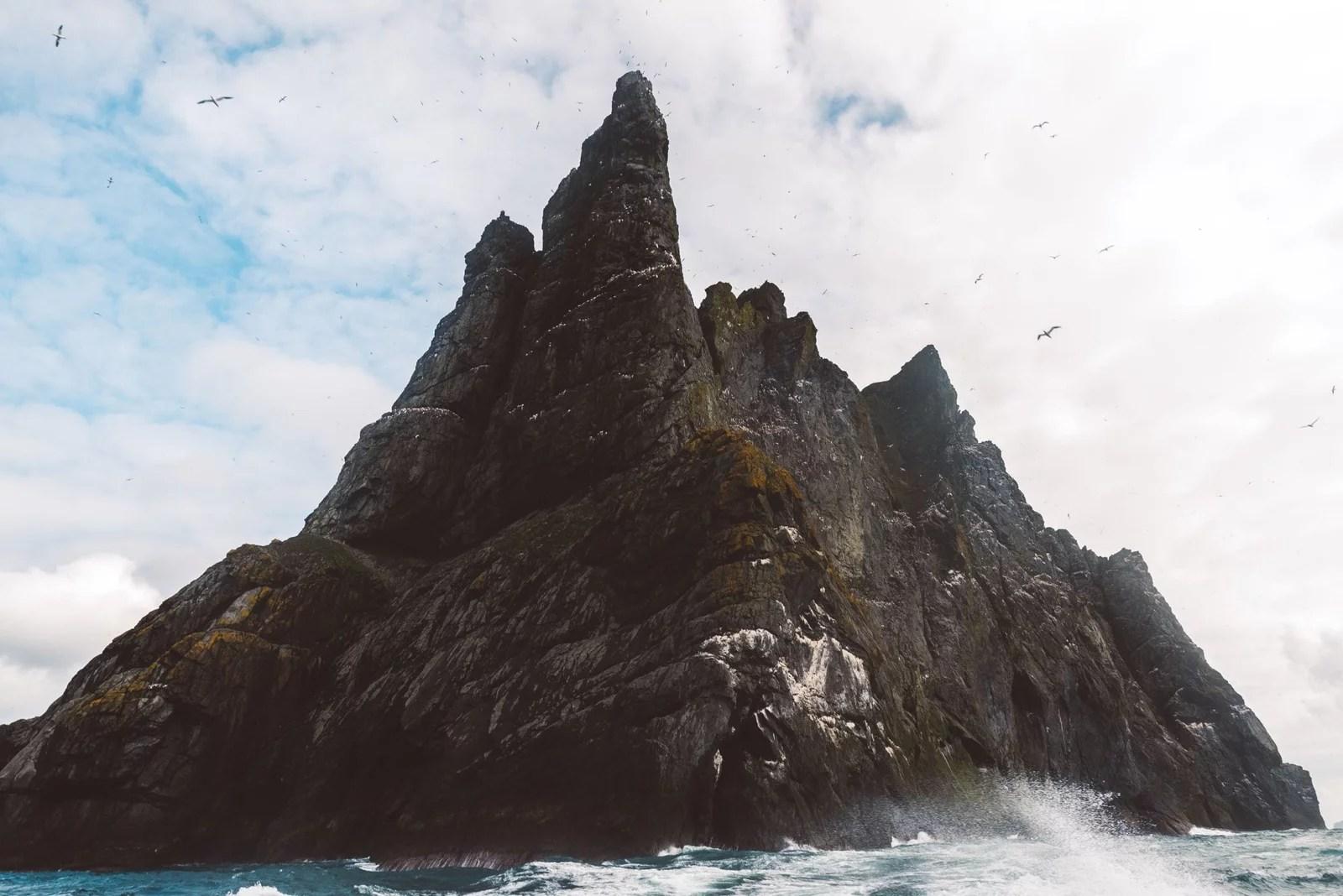 Boreray View of Cliffs
