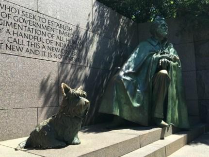 FDR Monument.