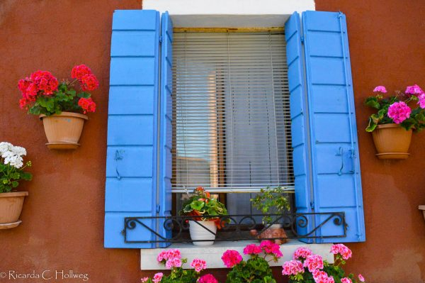 schönes Fenster auf Burano
