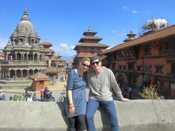 Ricarda und Chris in Nepal