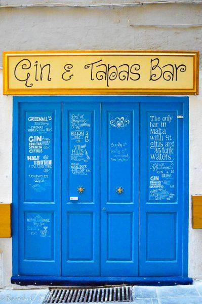Gin und Tapas auf Malta