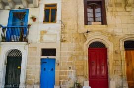 Hausfassade in Valletta