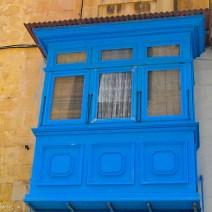 Blauer Erker auf Malta
