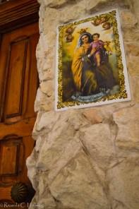 Religiöse Deko in Valletta