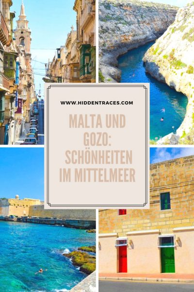 Pinterest Pin Malta deutsch