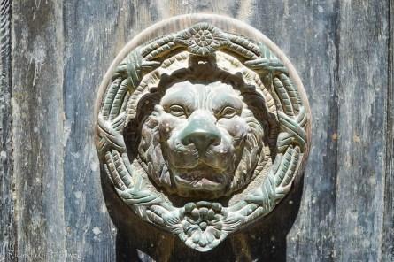 Löwen-Türknauf