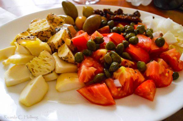 Traditionelle maltesische Platte