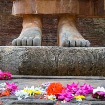 Reisetipps: Buddhas Füße in Sri Lanka