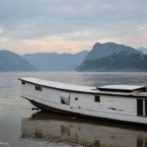 Morgenszene Laos