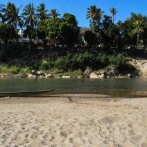 Ufer Nam Khan Fluss