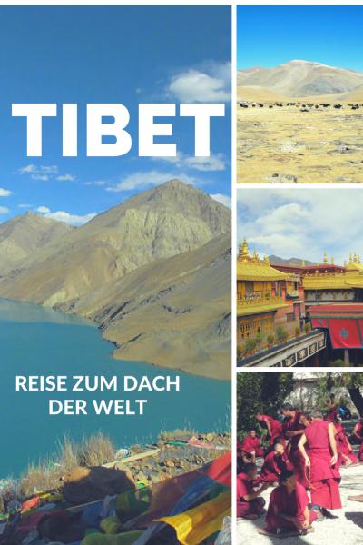 Pinterest Pin Informationen über Tibet