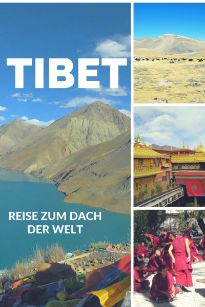 Pinterest Pin Informationen über Tibet