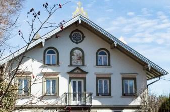 Schöne Hausfassade